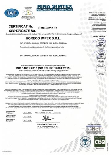 ISO14001 HORECO