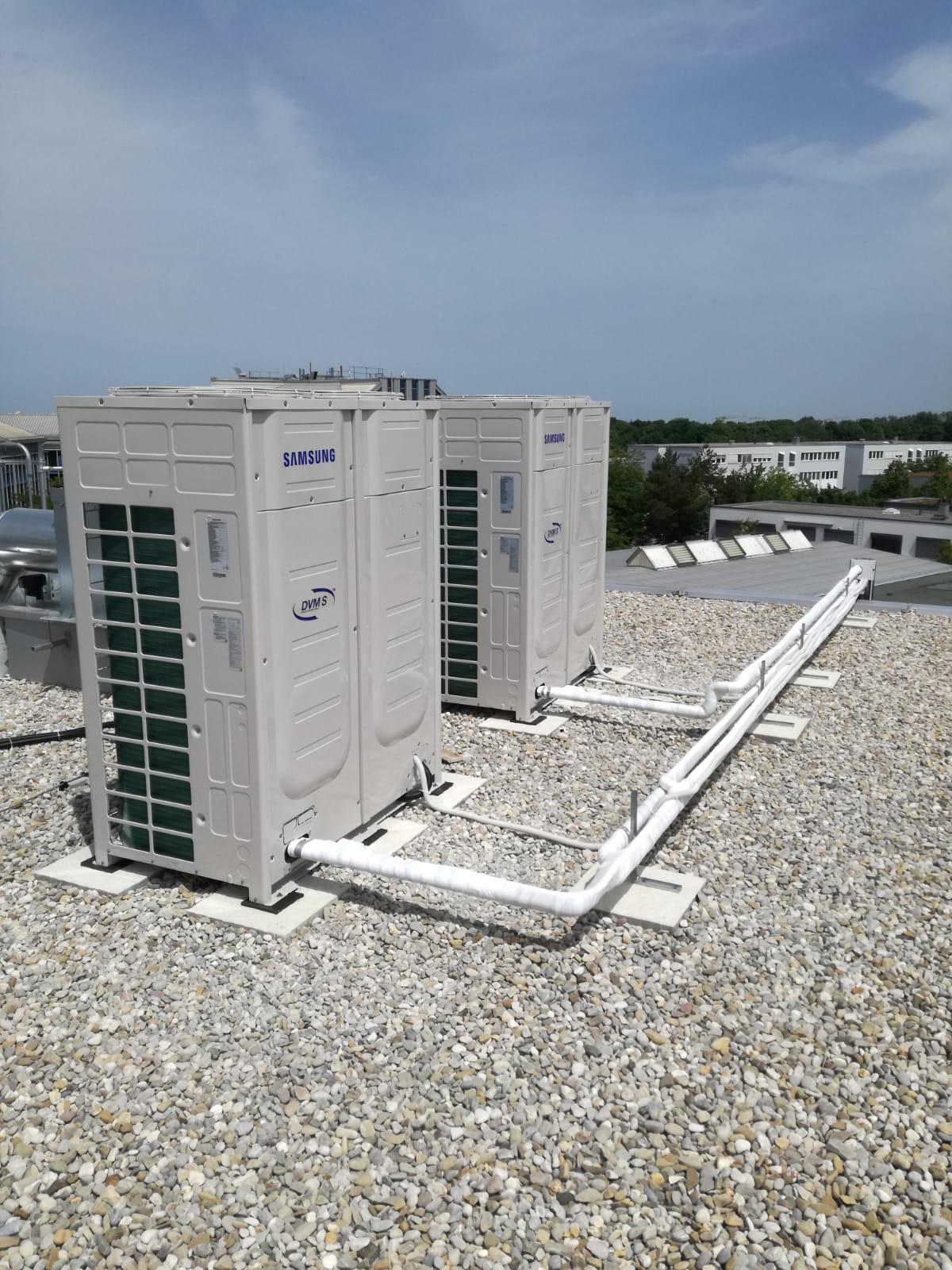 Instalatie climatizare Samsung – Hotel Kreis
