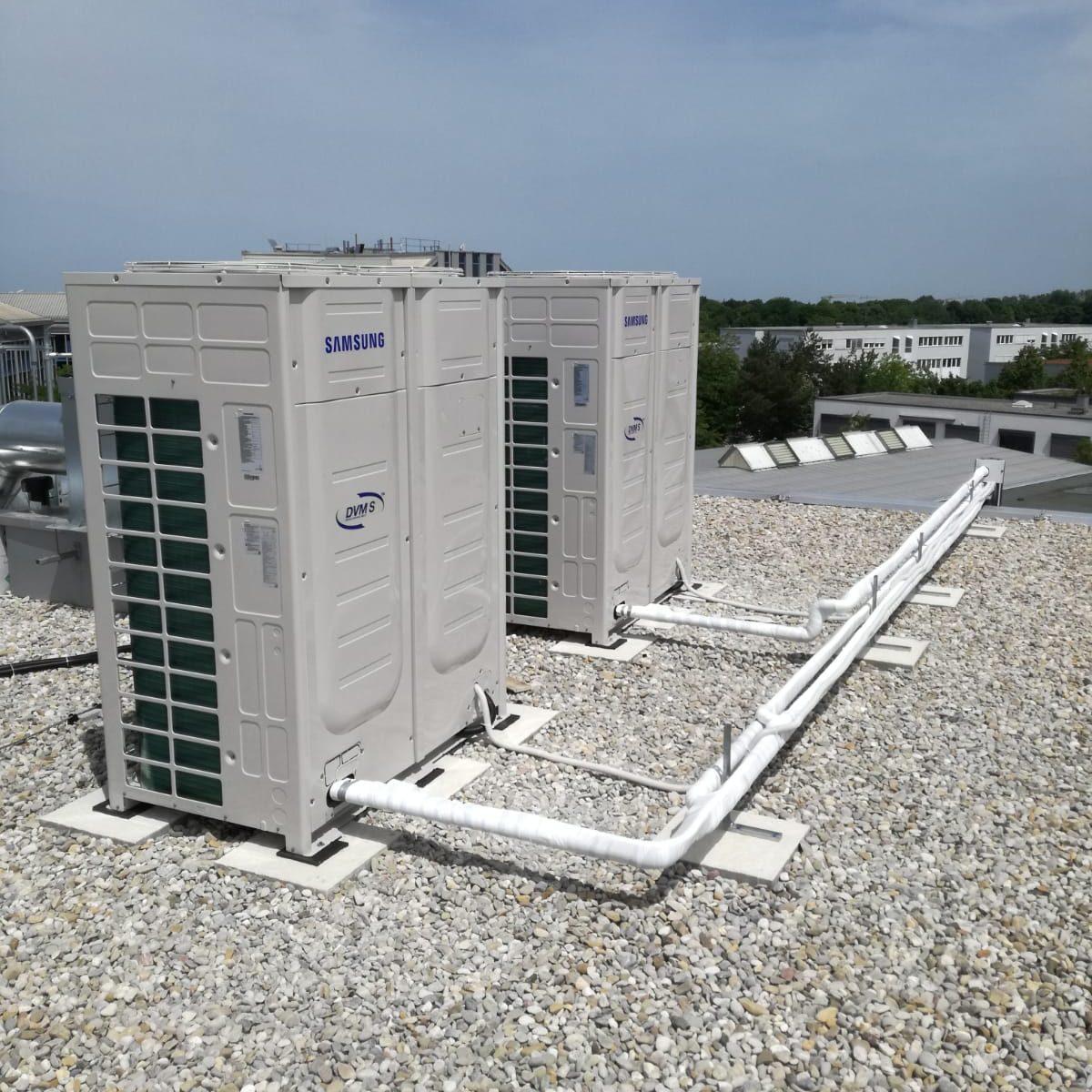 Samsung climate system – Hotel Kreis